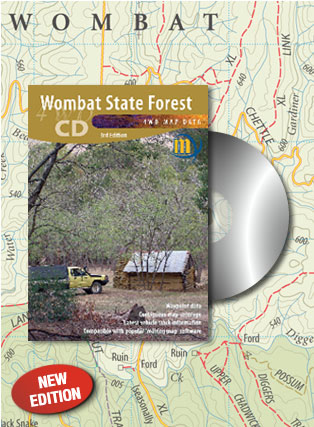 Wombat State Forest CD Meridian